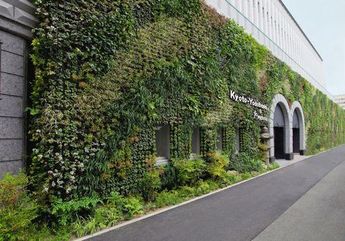 Suntory Midorie Installs Japan S Largest Green Wall System