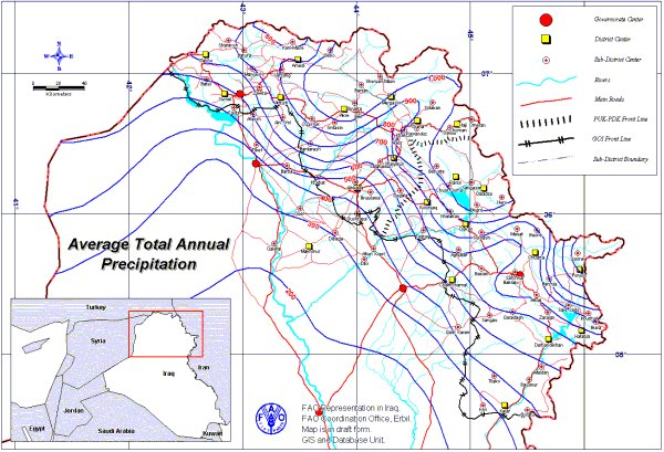 Agrometeorology in Kurdistan of Iraq: a contemporary history